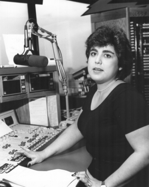 Linda Silver, on the air at Z-100